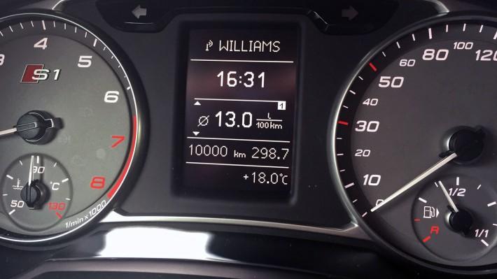 10.000 km im Audi S1 Sportback