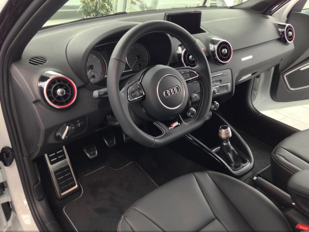 Audi S1 Sportback Innenraum