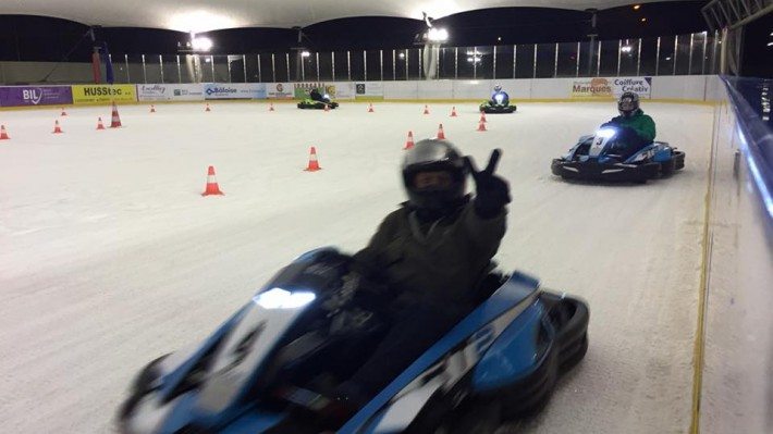 Icekarting in Beaufort